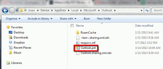 how outlook backup