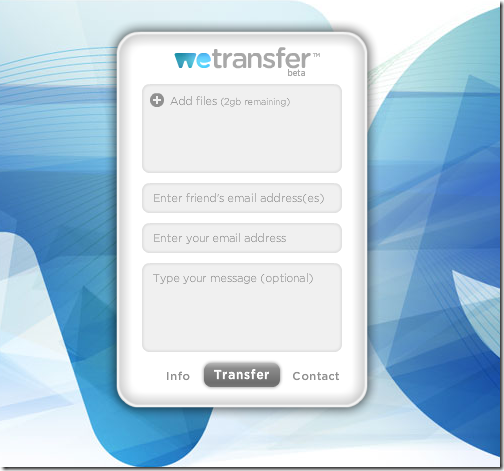 wetransfer files